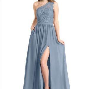 Azazie Bridesmaid Dress - Demi in Dusty Blue